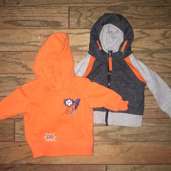 Carter's Other - Bundle of 2 little boys hooded sweatshirts